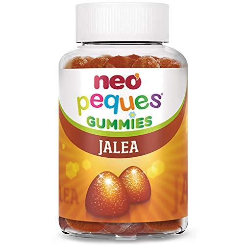 Neo Peques | Gummies Jalea 30 Unidades | Gominolas con Jalea Real | Aporta Energía y Vitalidad | Tomar 1 o 2 al día | Para Mayores de 3 años | Caramelo Masticable Infantil con Sabor a Plátano