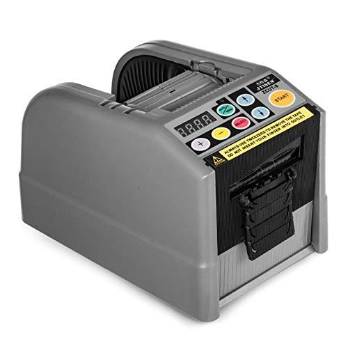 Summile ZCUT-9 Automatic Tape Cutter Machine 25W Tape Dispenser Cutter Bandspender 6-60mm adhesive tape Dispenser 5-999 mm Schnittlänge Klebebandabschneider