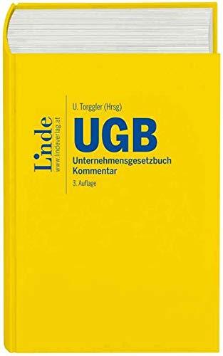 UGB | Unternehmensgesetzbuch: Kommentar