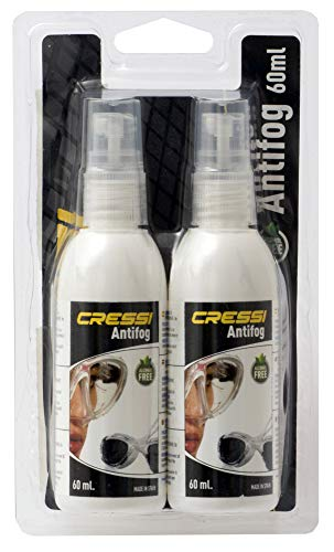 Cressi Premium Anti Fog für Taucherbrille, weiss, 60 ML