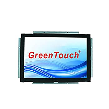 GreenTouch 19 inch Open Frame Touch Monitor Infrared Touch Technology with VGA and DVI for Kiosks