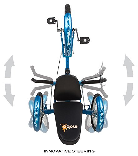 Mobo Triton Pro Adult Recumbent Trike. Pedal 3-Wheel Bicycle. Adaptive Tricycle for Teens to Seniors Minnesota