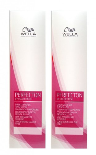 Wella Perfecton /8 perl 2 x 250 ml Tonspülung by Color Fresch Professionals