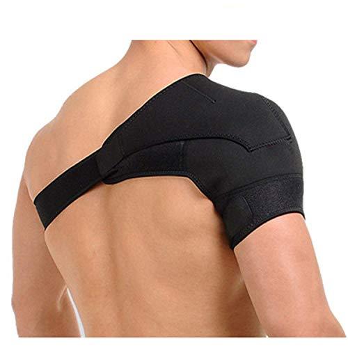 Schulterbandage Neopren Schulterstütze Verstellbare Unterstützung Bandage Verletzungsprävention und Genesung Sportverletzungen arthritische Schultern für Linke/Rechte Schulter, Männer/Frauen