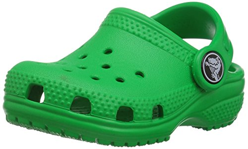 Crocs Kids' Classic Clog, Grass Green, 7 M US Toddler