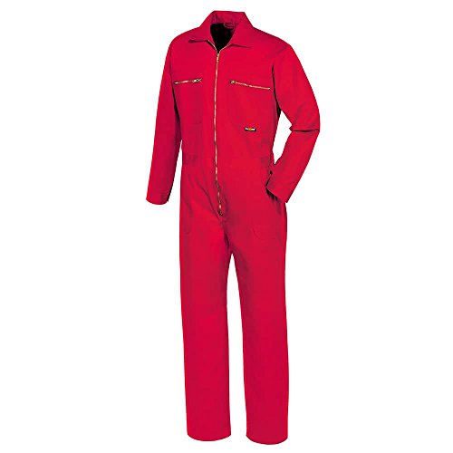 teXXor Overall Basic, Arbeitsoverall Anzug rot 56, 8043