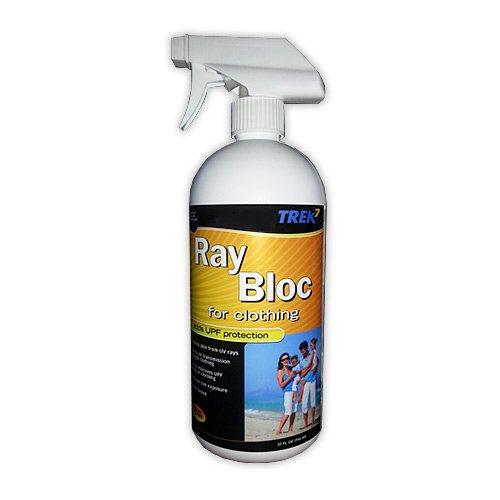 Trek7 Ray Bloc UPF Spray for Clothing, 32 Ounce
