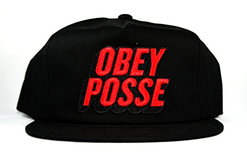 Obey - Casquette Snapback Homme Posted - Black