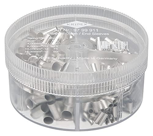 KNIPEX Sortimentslådor med oisolerade ändhylsor 97 99 911