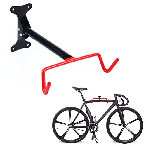 DUOCACL Bike Rack Dual Hook Folding Wall Mounted Bicycle Storage Stand Rack Bike Cycle Hanger Holder