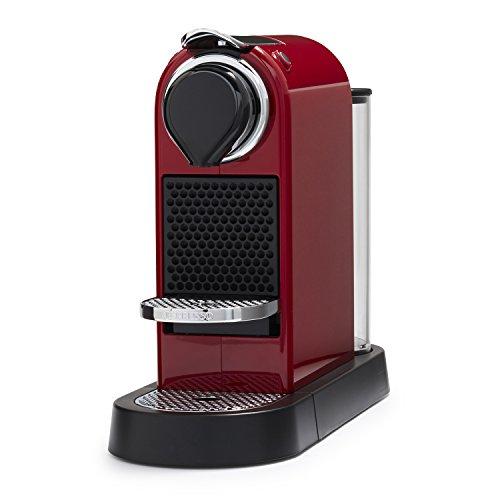 Nespresso CitiZ Espresso Machine, Red (Discontinued Model)