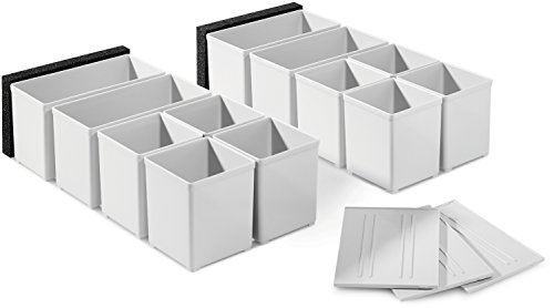 Festool 201124 Einsatzboxen Set 60x60/120x71 3xFT