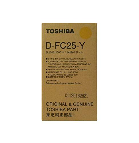 Toshiba Dfc25 Developer Yellow Dfc25Y revelador para Impresora - Rodillo revelador para impresoras