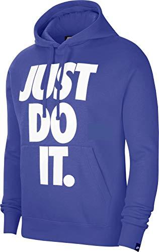 Nike JDI AST LT - Jersey para hombre, color azul armory y brillante, talla S