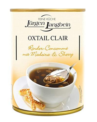 Oxtail Clair - Klare Ochsenschwanzsuppe von Jürgen Langbein, 400ml