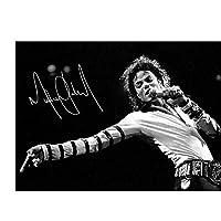 マイケルジャクソンシグネチャーアートフィルムプリントポスターホームウォールデコレーション寝室用アートワークホームオフィスデコレーションキャンバスにプリント60x90cmフレームなし