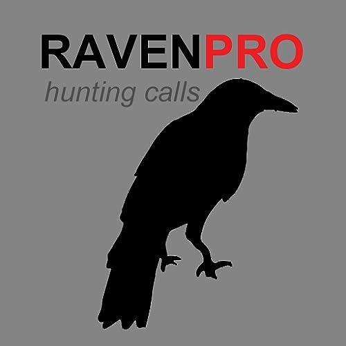 REAL Raven Hunting Calls App - 7 REAL Raven CALLS & Raven Sounds! - Raven e-Caller - BLUETOOTH COMPATIBLE