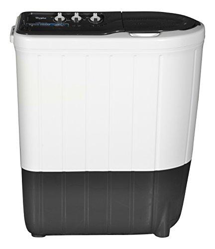 Whirlpool 6.2 kg Semi-Automatic Top Loading Washing Machine (SUPERB ATOM 6.2, Dark Grey, TurboScrub Technology)