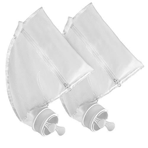 Sumille Polaris 280/480 Replacement Bag Zipper Filter Pool Cleaner Bag, All Purpose Bags Pool Cleaner Part K13,K16, 2 Pack