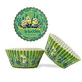 Dekora - Capsulas Los Minions - Capsulas Cupcakes - 50 Piezas - Multicolor