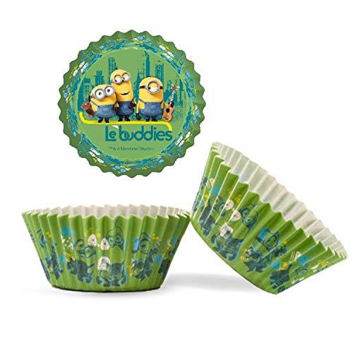Dekora - 339239 Minions Muffins Backformen Set - 50 Stück