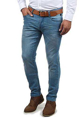 Blend Pico Herren Jeans Hose Denim Aus Stretch-Material Skinny Fit, Größe:W34/34, Farbe:Denim middleblue (76201)