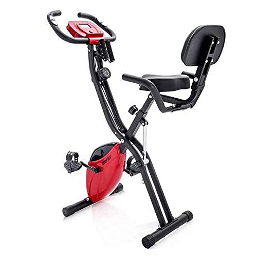 Multifunctionele Hometrainer, Folding Aerobic Fitness Machine Verstelbare Stoel Indoor Hometrainer Met LCD-Scherm En Koord Afvallen Fitness Equipment