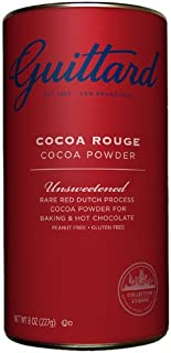 E. Guittard Collection Cocoa Products, Unsweetened, 8 Ounce (Pack of 6)