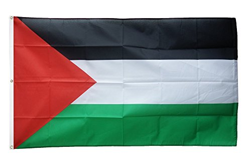 Flaggenfritze Fahne/Flagge Palästina - 150 x 250 cm + gratis Sticker, XXL-Fahne