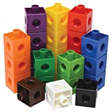 Edx Education Linking Cubes - in Home Learning Toy for Early Math - Set of 100 - .8 inch S...