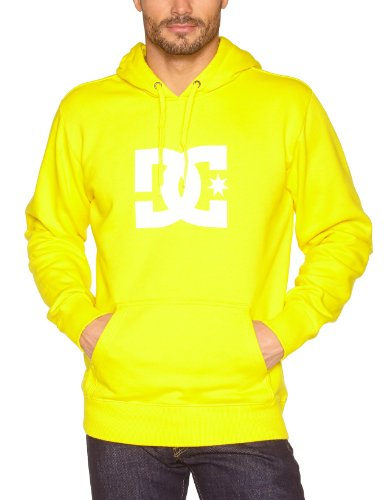 DC Shoes Herren Screenline Sweatshirt Star PH, Safety Yellow, XL, DRMSW102-SFYD