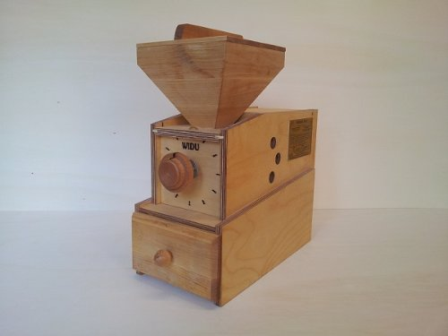 Widu Widukind I - Macina cereali in legno di betulla, compatto