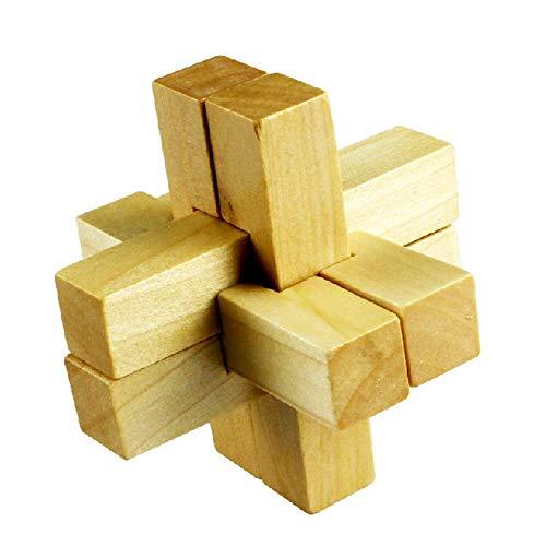 Puzzles  cruz de madera