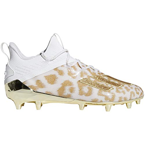 adidas Men's adizero X Anniversary Uncaged 2.0 Cheetah Football Cleats