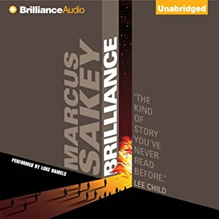 Brilliance audiobook cover art