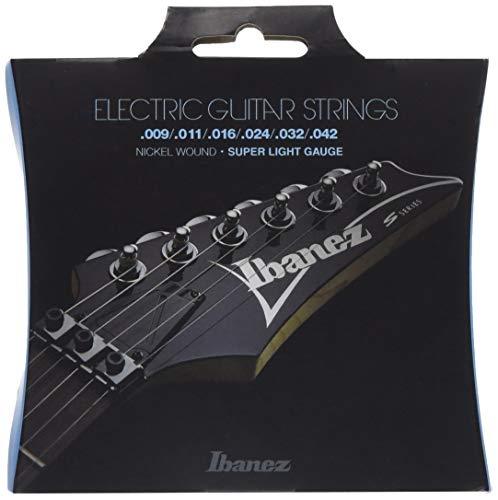 IBANEZ Saitensatz E-Gitarre Nickel Wound 6-Saiter - Super Light 9-42 (IEGS6)
