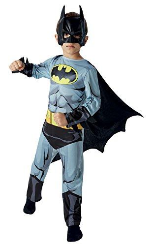Rubie's-déguisement officiel - Warner - Déguisement Pour Enfant Classique Batman Comic Book - Taille M- I-610778M