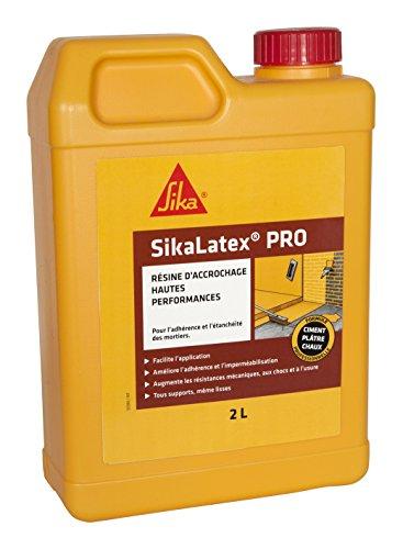 Sika france S.A.S 465585resina de enganche producto limpiador profesional para acumulación y sellado mortero, color blanco