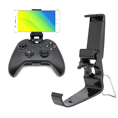 Angelikashalala Xbox One Controller-Halterung, 2 Stück, faltbare Handy-Halterung für Game Controller, kompatibel mit Xbox One S, Xbox One X, SteelSeries Nimbus, Stratus XL