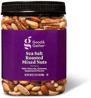 Sea Salt Roasted Mixed Nuts - 30oz - Good & Gather