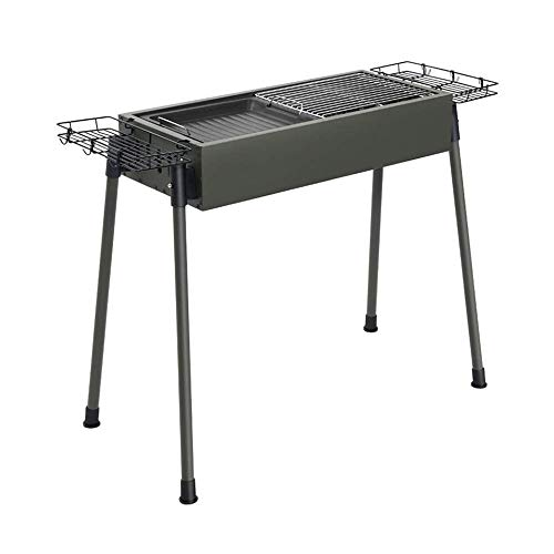 Find Bargain Nhlzj BBQ Supplies/Barbecue Portable Barbecue Grill Outdoor Charcoal Barbecue Rack 5-10...