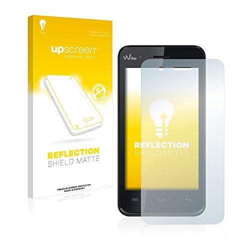 upscreen Entspiegelungs-Schutzfolie kompatibel mit Wiko Sunset – Anti-Reflex Bildschirmschutz-Folie Matt