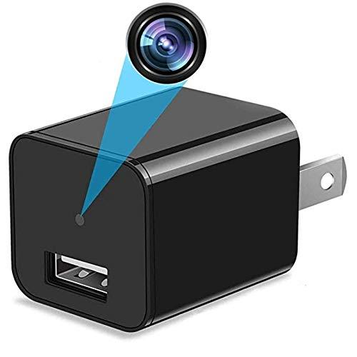 Mini Spy Camera - HD 1080P Hidden Camera USB Wall Charger Hidden Camera - Premium Pack – Best Spy Camera Charger Wireless Video Recorder Home Security System - Motion Detector Nanny Camera
