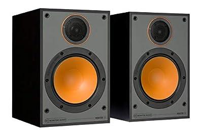 Monitor Audio Monitor 50 Black Oak Bookshelf Speakers (Pair) by MONITOR AUDIO