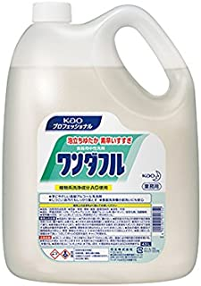ワンダフル 4.5L 業務用 食器?野菜用洗剤(無香料)