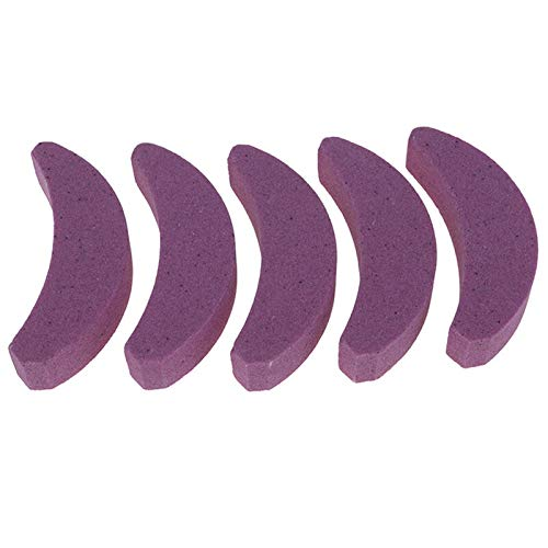 NAWQK Afilador de Dientes de Motosierra Afilada Sierra Cadena de Afilado Sistema Herramientas abrasivas Herramientas abrasivas fácilmente Duradera Afilada rápida para 14-20' (Color : 5 Stones)