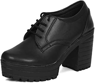 BEONZA Women's Synthetic Block Heels