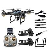 Greatangle Drone LH-X38GWF Dual GPS WiFi FPV Drone HD 720P Telecamera Telecomando Elicottero RC...