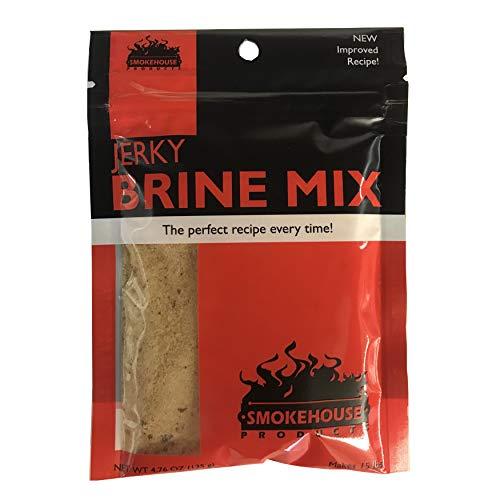 Smokehouse produits Jerky Mix de saumure naturelle aromatisés, 10-Pack