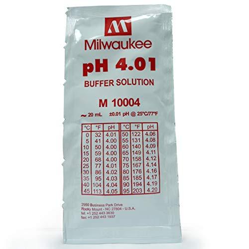 Líquido de calibraje - pH - 4.01. Bolsa 20 ml.